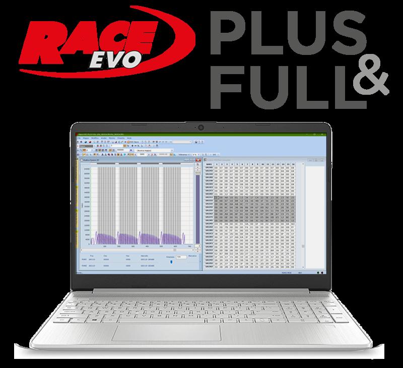 RACE EVO 'PLUS & FULL'