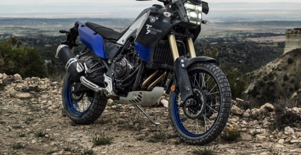 Yamaha Ténéré equipped with AkrapoviČ exhaust and Rapid Bike Evo fuelling kit