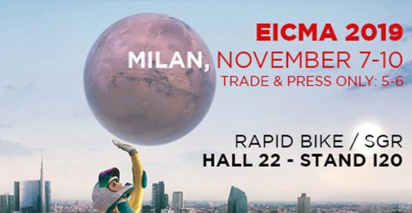 EICMA 2019: we're ready!