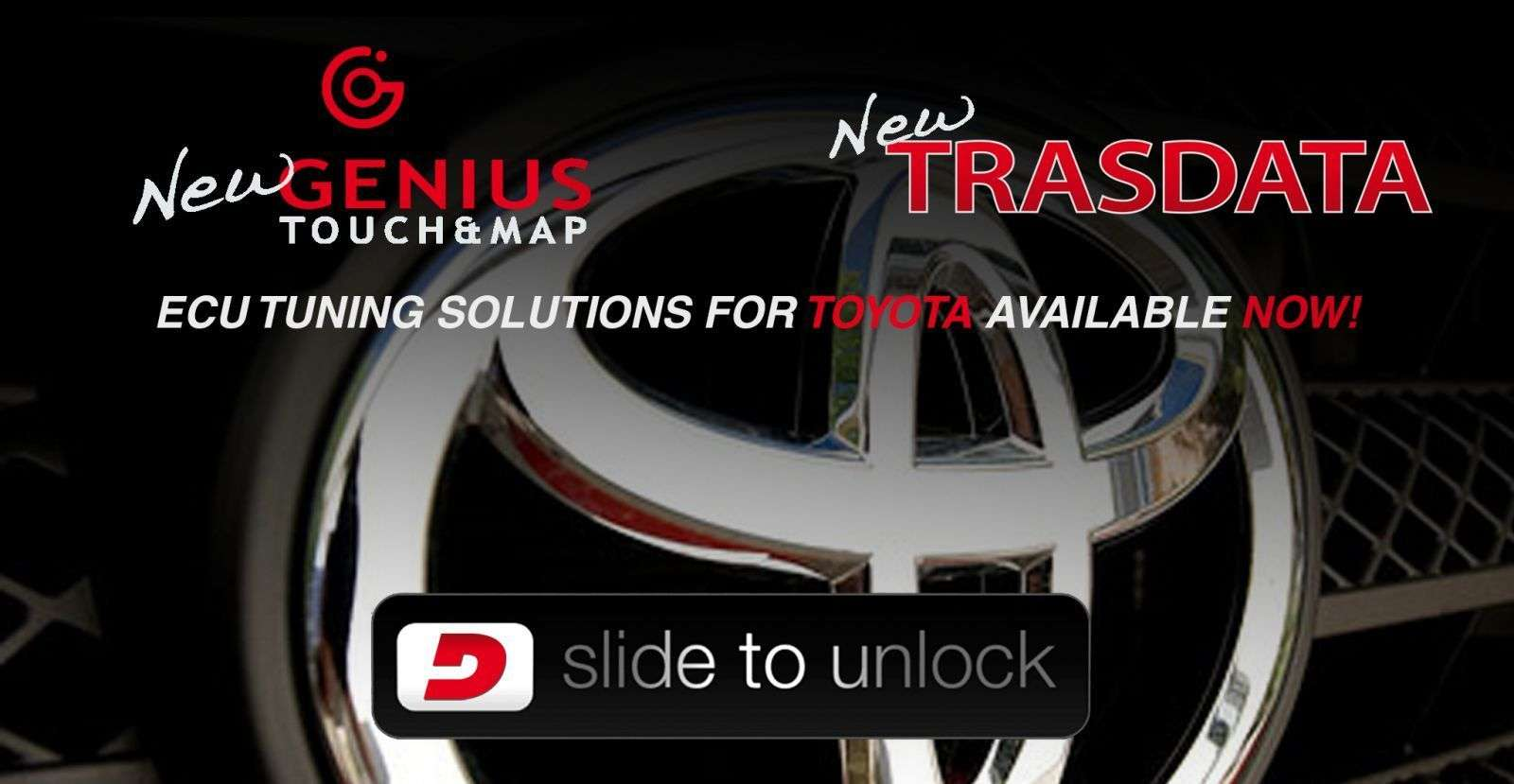 Toyota ECU tuning is now available!