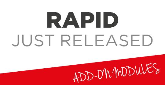 RAPID JUST RELEASED - 11/2017